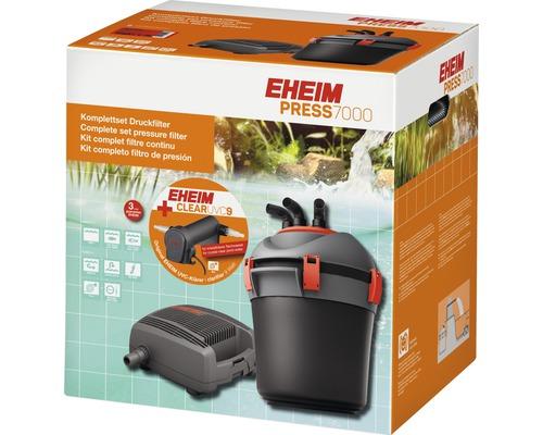 Système de filtration à pression set complet EHEIM PRESS 7000 avec ClearUVC9