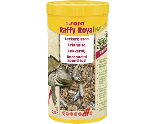 Nourriture pour reptiles sera raffy Royal 1
