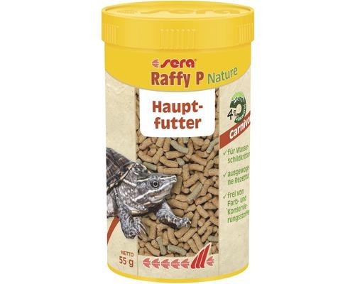 Aliment principal sera raffy P pour tortues d''eau et reptiles 250ml