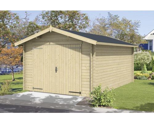 Garage simple Mauritius 330x510cm naturel