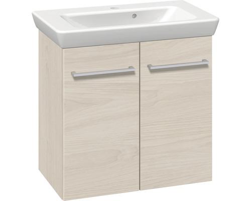 Ensemble de meubles de salle de bains Multo blanc Ulmen largeur 65 cm