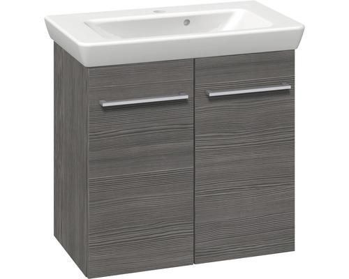 Ensemble de meubles de salle de bains Multo Pine Grey largeur 65 cm