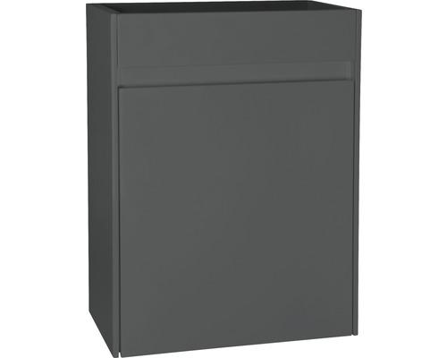 Waschtischunterschrank HURA L 40 cm anthrazit Türanschlag links oder rechts
