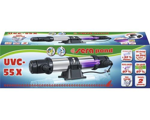 Stérilisateur de bassin UVC sera pond UVC-55X