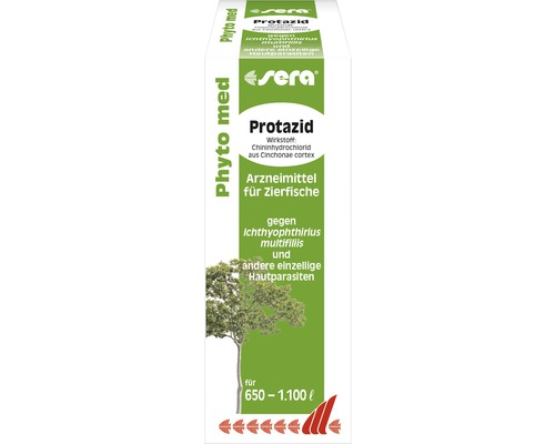 Produit pharmaceutique sera Phyto med Protazid 100 ml