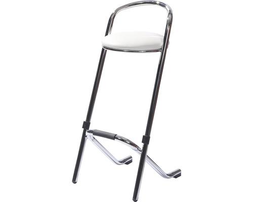 Chaise de bar VEBA en acier blanc