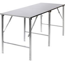 Table pliante VEBA en métal aluminium-thumb-0