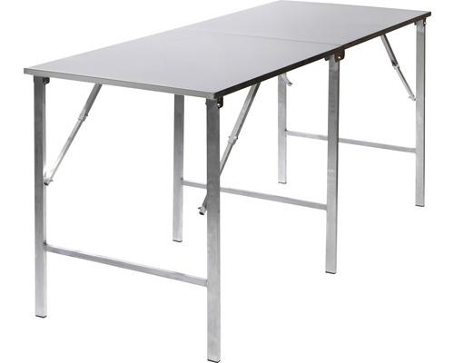 Table pliante VEBA en métal aluminium
