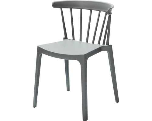 Chaise empilable VEBA Windson en fibre de verre vert