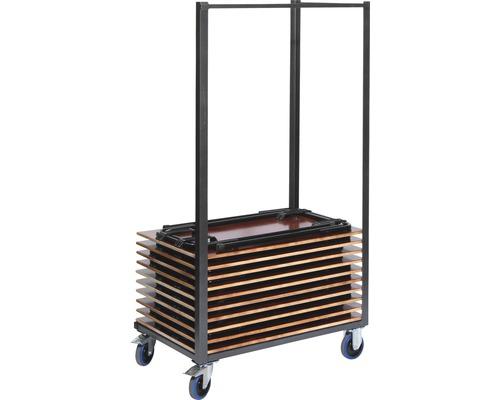 Chariot de transport VEBA pour table haute max. 200 kg