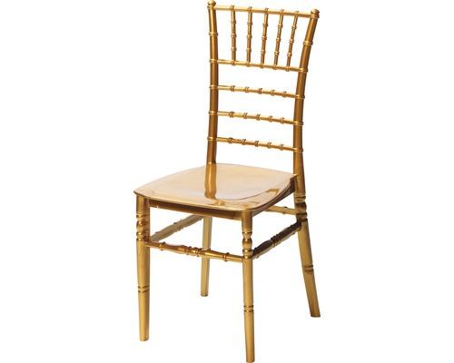 Chaise de mariage VEBA Tiffany plastique or