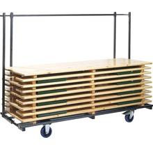 Chariot de transport VEBA pour table et bancs de brasserie max. 800 kg-thumb-0