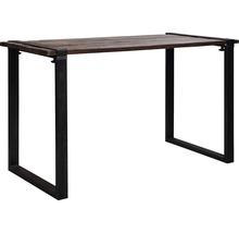 Piètement de table VEBA Old Dutch pieds de table en forme de U bois 220 x 80 cm marron-thumb-0
