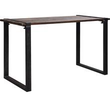Plateau de table VEBA Old Dutch en bois 220 x 80 cm marron-thumb-0
