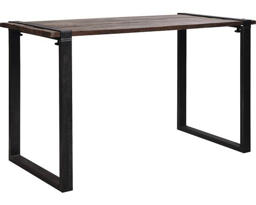 Plateau de table VEBA Old Dutch en bois 220 x 80 cm marron