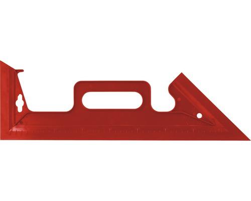 Rail à peinture plastique rouge avec poignée 42 cm
