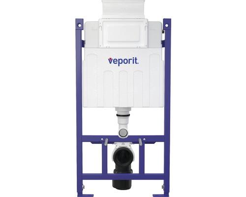 Bâti-support veporit. ICUBOX pour WC suspendu VP118/850 H :858 mm actionnement par devant et par le dessus avec conduit d''introduction