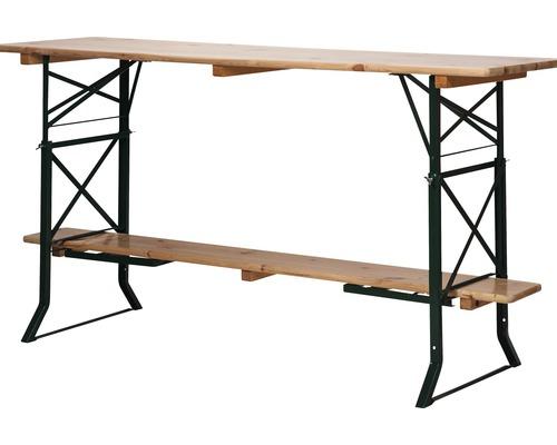 Rehaussement de table de brasserie VEBA en acier 50/60 cm vert