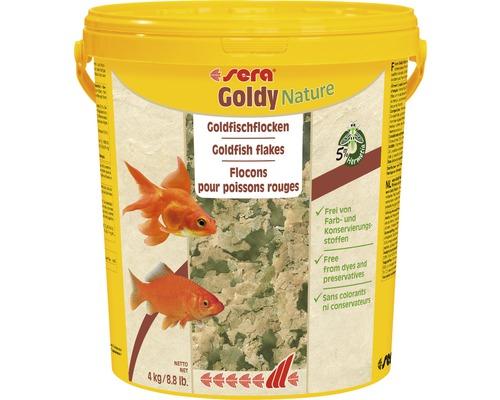 Goldfischflocken sera Goldy Nature 4 kg