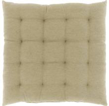Galette de chaise Lysa beige 40x40 cm-thumb-0