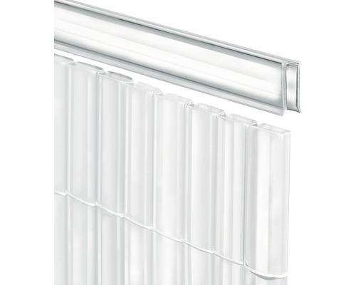 Profilé de recouvrement en U pour RÜGEN 150cm transparent