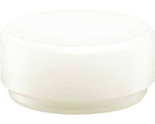 Embout de tête pour massette Halder diamètre 40mm nylon blanc