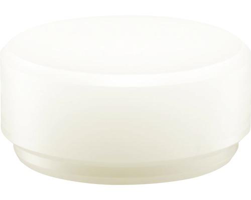 Embout de tête pour massette Halder diamètre 50mm nylon blanc