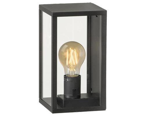 Applique extérieure LED IP44 4W 280 lm 2200 K blanc chaud HxLxl 220x120x120 mm Perugia noir