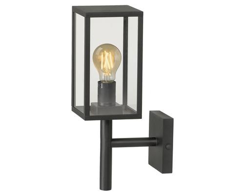 Applique extérieure LED IP44 4W 280 lm 2200 K blanc chaud HxLxl 380x190x120 mm Veneto noir