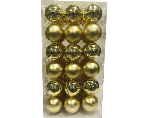 Boules de Noël Lafiora Ø6cm or 54 pces