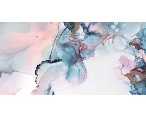 Tableau sur toile Aquarel Abstract 50x100cm