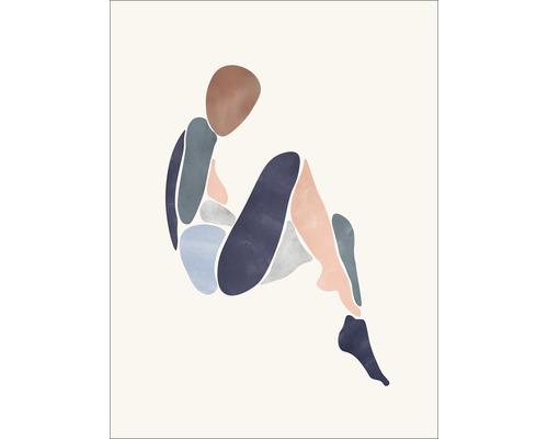 Panneau décoratif Sitting Woman I 30x40cm