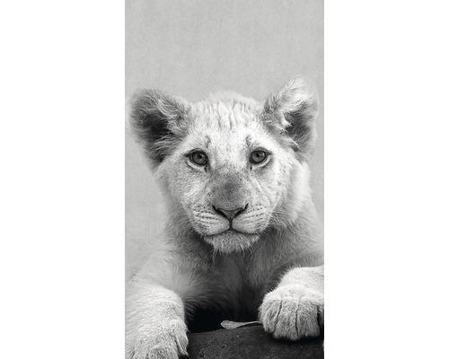 Panneau décoratif Young Lion 15x30cm