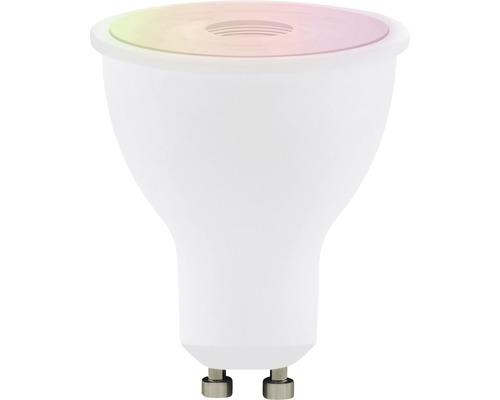 Ampoule à intensité lumineuse variable LED CCT RGB GU10/5W(29W) 345 lm Eglo Crosslink