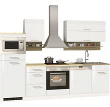 Cuisine complète Held Möbel Mailand 280 cm blanc à haute brillance équipée-thumb-5