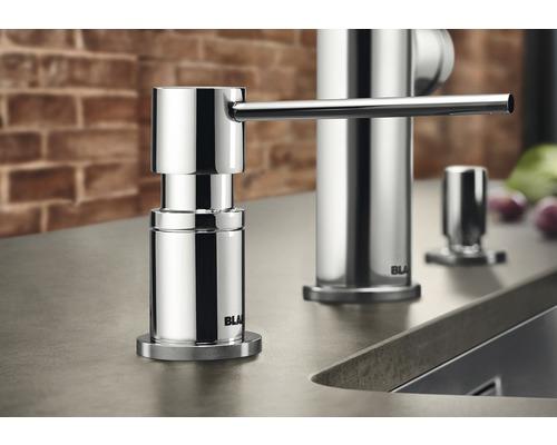 Distributeur de liquide vaisselle BLANCO Lato chrome 525808