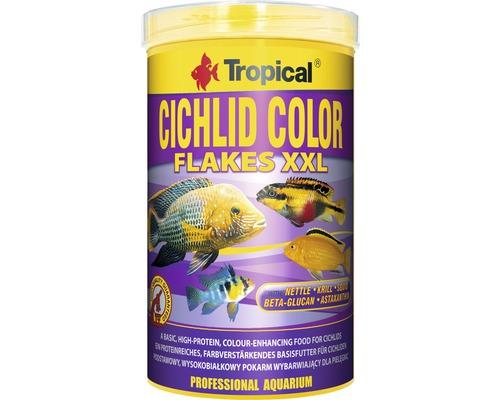 Nourriture en flocons Tropical Cichlid Color XXL 1 l