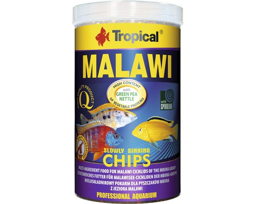 Chips alimentaires Tropical Malawi Chips 1 l