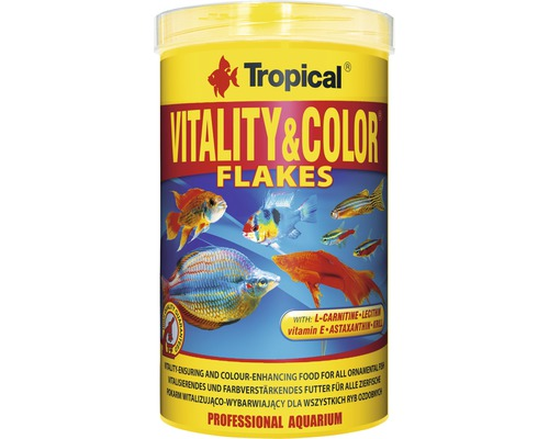 Flockenfutter Tropical Vitality & Color Flakes 1 l