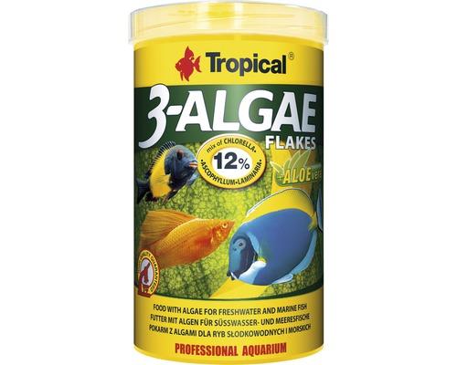 Flockenfutter Tropical 3-Algae Flakes 1 l