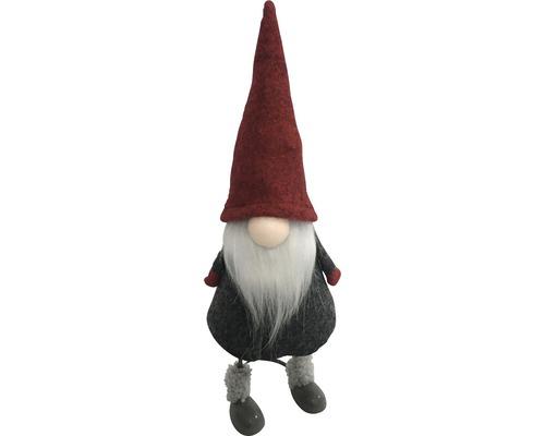 Gnome déco H27cm rouge