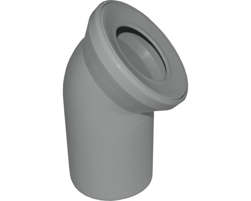 WC-Anschlussbogen 45° manhattan DN 110