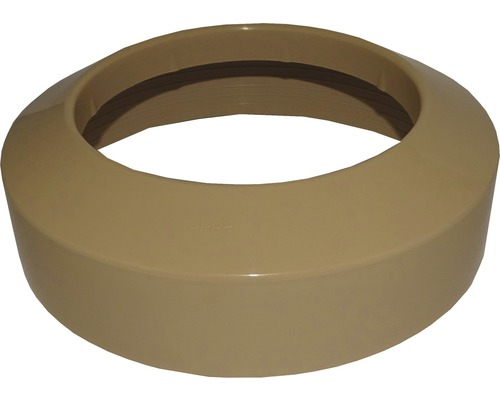Flachrosette für Uni-WC DN 110 beige