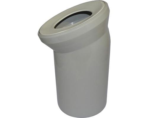 Uni WC-Anschlussbogen 22° manhattan DN 110