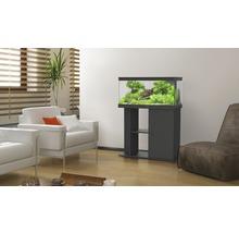 Meuble pour aquarium Aquatlantis Style LED 80x35 cm, noir-thumb-1