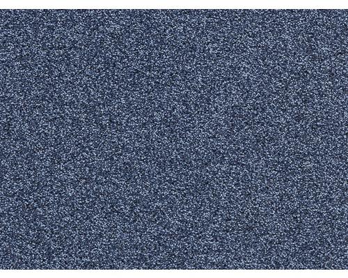 Moquette frisée E-Force bleu largeur 400 cm (au mètre)