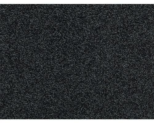 Teppichboden Frisé E-Force schwarz 400 cm breit (Meterware)