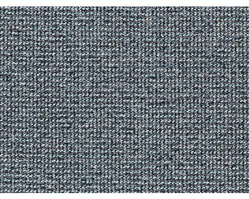 Teppichboden Schlinge Tweed blau 400 cm breit (Meterware)