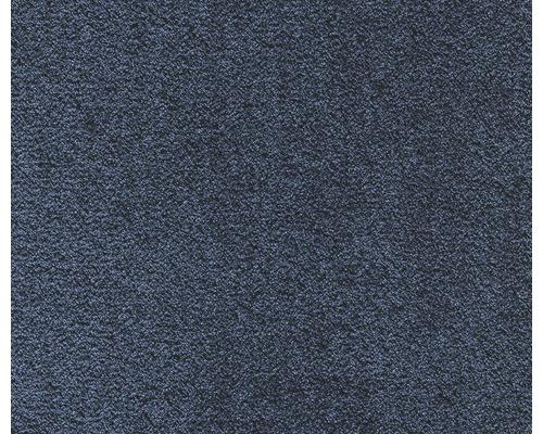 Teppichboden Kräuselvelours Silkysoft blau 400 cm (Meterware)