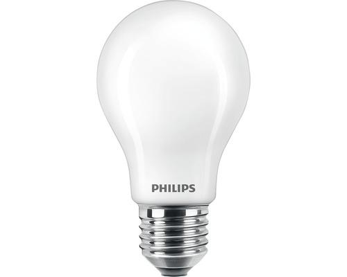 Ampoule LED mat à intensité lumineuse variable A60 mat E27/12W(100W) 1521 lm 2200 K + 2700 K blanc chaud